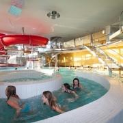 Wellness Kuřim - rekonstrukce a dostavba krytého bazénu v Kuřimi