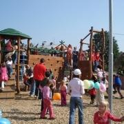 Dětská hřiště městyse Měřína - rozvoj pohybových dovedností dětí