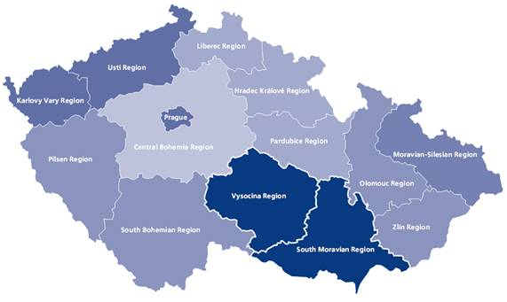 Cohesion Regions in the Czech Republic