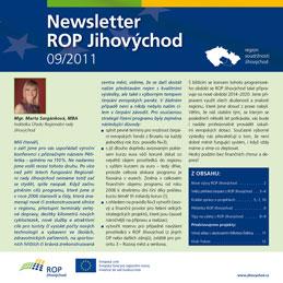 newsletter č. 9/2011