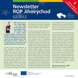 newsletter č. 2/2012