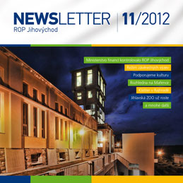 newsletter č. 11/2012