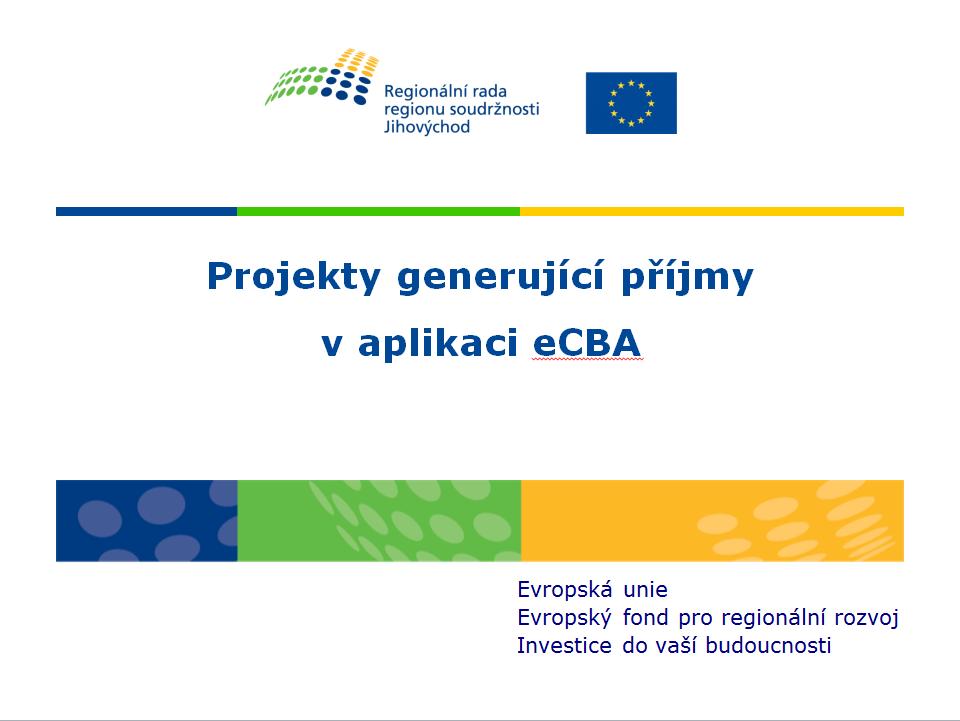 Prezentace - eCBA příjmy