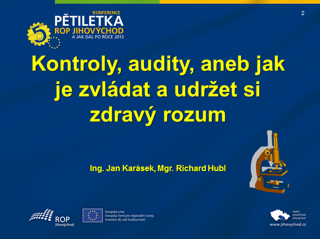 Prezentace - J. Karasek, R. Hubl
