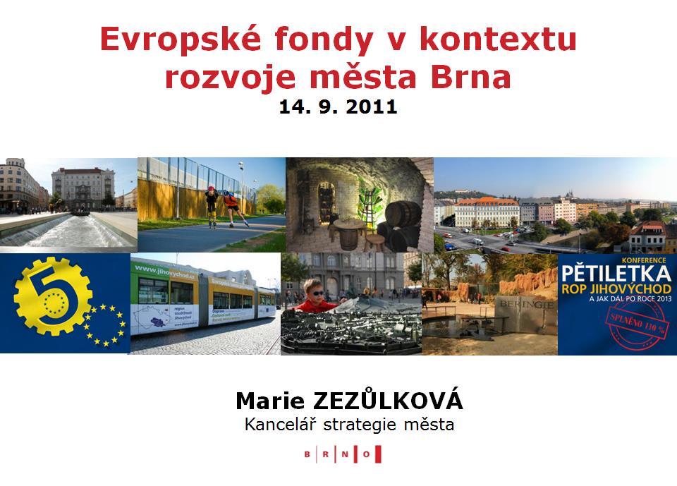 Prezentace - Marie Zezulkova