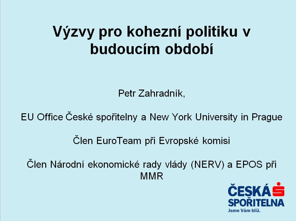 Prezentace - Petr Zahradnik