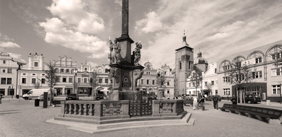 Havlíčkův Brod náměstí
