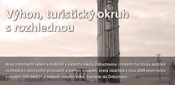 Výhon, turistický okruh s rozhlednou_proklik na informace
