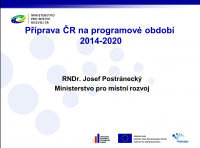 RNDr. Josef Postránecký