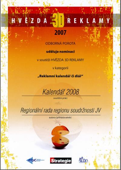 certifikát Hvězda 3D reklamy