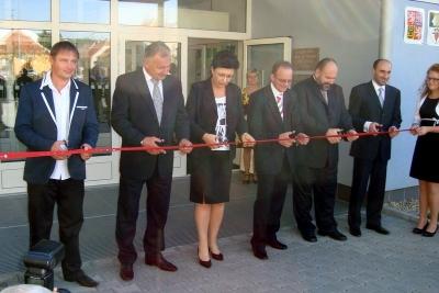 Nově vybudovaná škola Otevřená