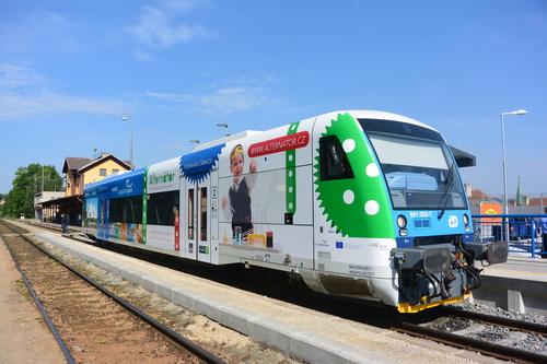Třebíč bude propagovat i regionální vlak