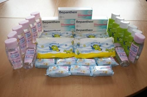 dárky pro Dětské centrum Jihlava